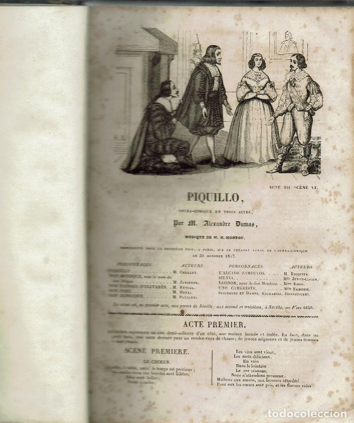 Libros antiguos: MAGASIN THÉATRAL. DIFFERENTES OEUVRES DE THEATRE EN FRANCAIS. AÑO 18??. (9/7) - Foto 6 - 137531634