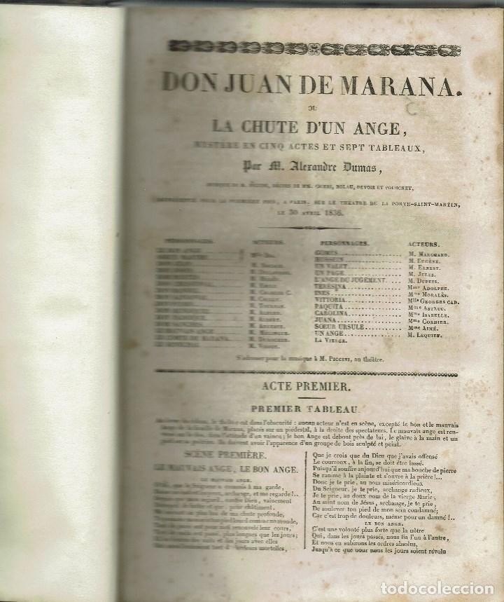 Libros antiguos: MAGASIN THÉATRAL. DIFFERENTES OEUVRES DE THEATRE EN FRANCAIS. AÑO 18??. (9/7) - Foto 8 - 137531634