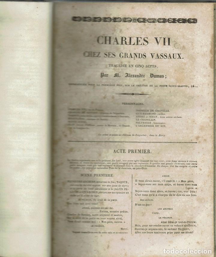 Libros antiguos: MAGASIN THÉATRAL. DIFFERENTES OEUVRES DE THEATRE EN FRANCAIS. AÑO 18??. (9/7) - Foto 9 - 137531634