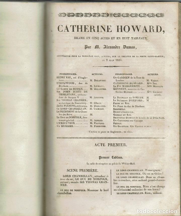 Libros antiguos: MAGASIN THÉATRAL. DIFFERENTES OEUVRES DE THEATRE EN FRANCAIS. AÑO 18??. (9/7) - Foto 10 - 137531634