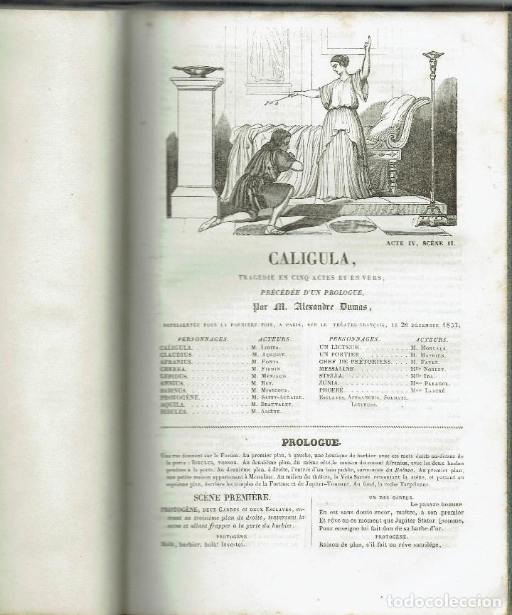 Libros antiguos: MAGASIN THÉATRAL. DIFFERENTES OEUVRES DE THEATRE EN FRANCAIS. AÑO 18??. (9/7) - Foto 11 - 137531634