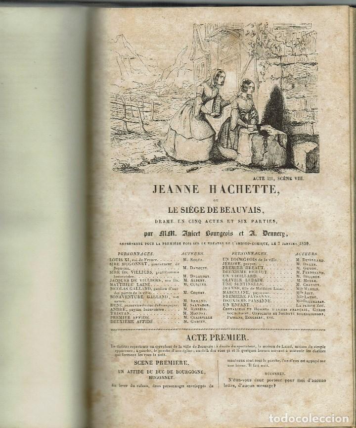 Libros antiguos: MAGASIN THÉATRAL. DIFFERENTES OEUVRES DE THEATRE EN FRANCAIS. AÑO 18??. (9/7) - Foto 15 - 137531634