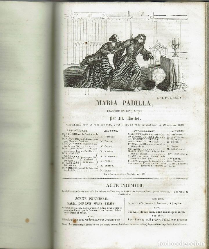 Libros antiguos: MAGASIN THÉATRAL. DIFFERENTES OEUVRES DE THEATRE EN FRANCAIS. AÑO 18??. (9/7) - Foto 17 - 137531634