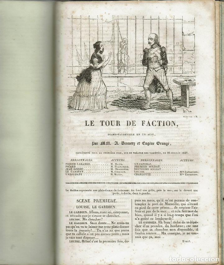 Libros antiguos: MAGASIN THÉATRAL. DIFFERENTES OEUVRES DE THEATRE EN FRANCAIS. AÑO 18??. (9/7) - Foto 19 - 137531634