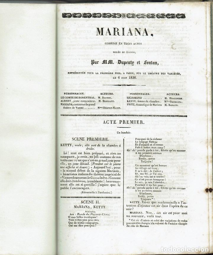 Libros antiguos: MAGASIN THÉATRAL. DIFFERENTES OEUVRES DE THEATRE EN FRANCAIS. AÑO 18??. (9/7) - Foto 21 - 137531634