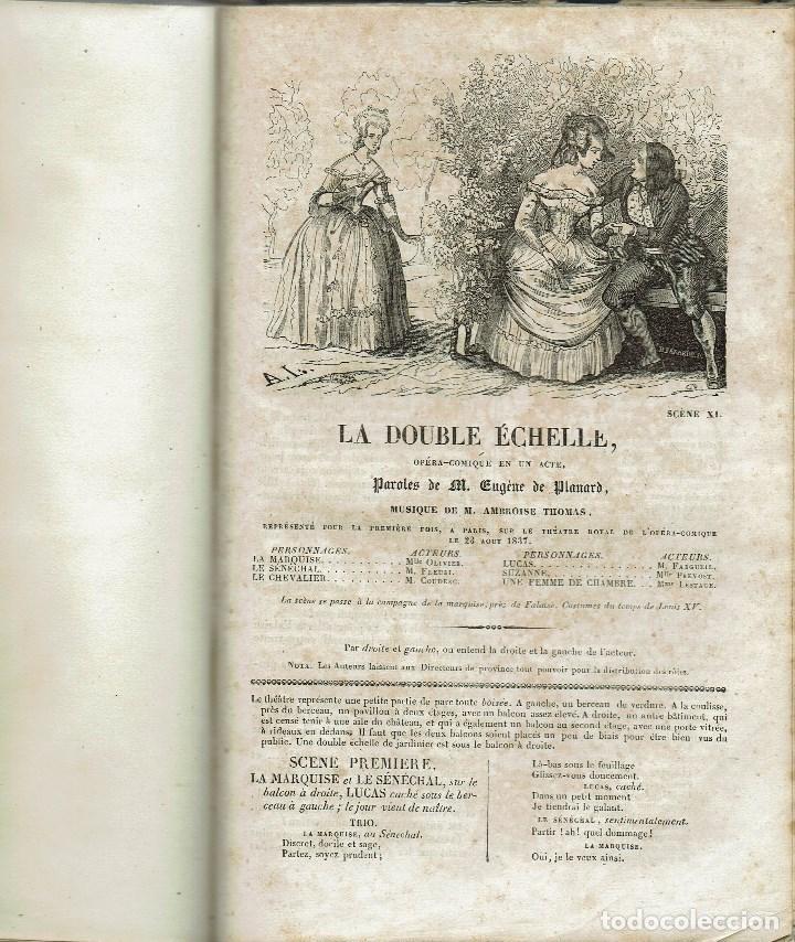 Libros antiguos: MAGASIN THÉATRAL. DIFFERENTES OEUVRES DE THEATRE EN FRANCAIS. AÑO 18??. (9/7) - Foto 24 - 137531634