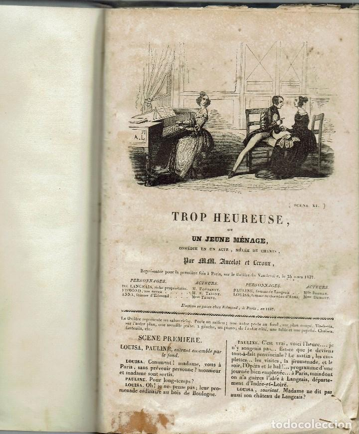 Libros antiguos: MAGASIN THÉATRAL. DIFFERENTES OEUVRES DE THEATRE EN FRANCAIS. AÑO 18??. (9/7) - Foto 27 - 137531634