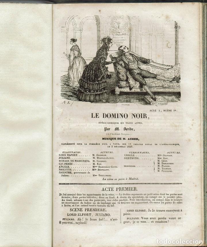 Libros antiguos: MAGASIN THÉATRAL. DIFFERENTES OEUVRES DE THEATRE EN FRANCAIS. AÑO 18??. (9/7) - Foto 28 - 137531634