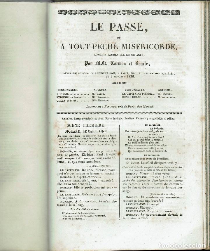 Libros antiguos: MAGASIN THÉATRAL. DIFFERENTES OEUVRES DE THEATRE EN FRANCAIS. AÑO 18??. (9/7) - Foto 29 - 137531634
