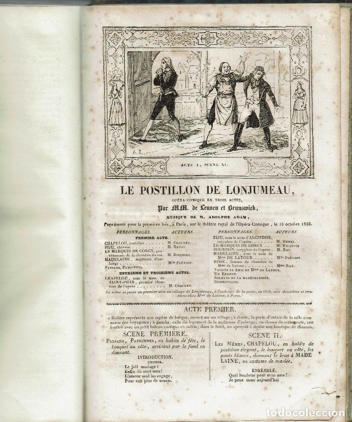 Libros antiguos: MAGASIN THÉATRAL. DIFFERENTES OEUVRES DE THEATRE EN FRANCAIS. AÑO 18??. (9/7) - Foto 31 - 137531634