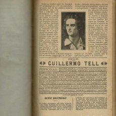 Libros antiguos: CUATRO OBRAS DE TEATRO. SCHILLER,DÍAZ DE ESCOVAR,BOUCHARDY,LORD BYRON. AÑO 1909/1920. (9/7). Lote 137577986