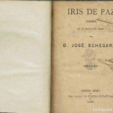 Libros antiguos: TRES OBRAS TEATRO. JOSÉ ECHEGARAY, FRANCISCO RODRÍGUEZ MARÍN. AÑO 1886/1915. (9/7). Lote 137786750