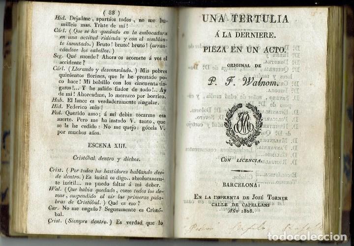 Libros antiguos: COMEDIAS. JOSÉ ORGAZ, P. F. WALNOM, GAETANO ROSSI. AÑO 1828/1829. (12.6) - Foto 5 - 137891106