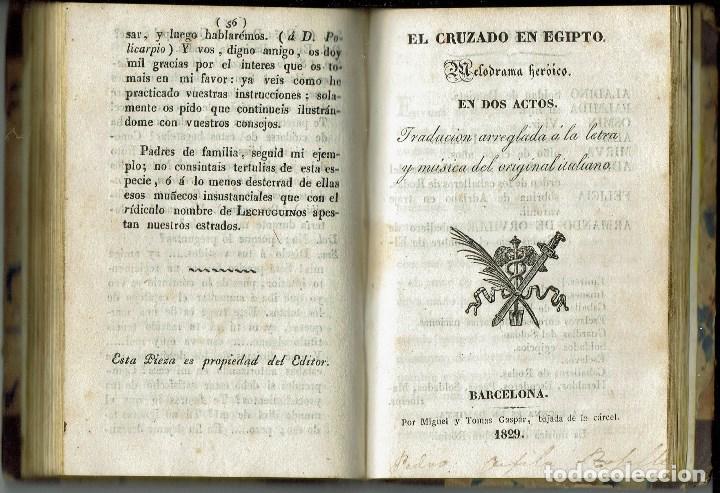 Libros antiguos: COMEDIAS. JOSÉ ORGAZ, P. F. WALNOM, GAETANO ROSSI. AÑO 1828/1829. (12.6) - Foto 6 - 137891106
