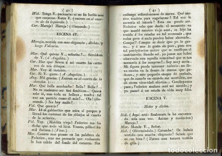 Libros antiguos: COMEDIAS. JOSÉ ORGAZ, P. F. WALNOM, GAETANO ROSSI. AÑO 1828/1829. (12.6) - Foto 7 - 137891106