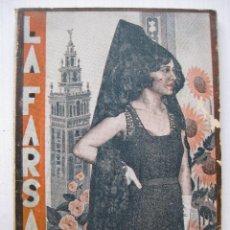 Libros antiguos: LA FARSA - LA PERULERA Nº171 - AÑO 1930. Lote 140135318