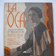 Libros antiguos: LA FARSA - LA OCA Nº24 - AÑO 1932. Lote 140135542