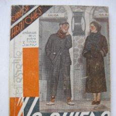 Libros antiguos: LA FARSA - YO QUIERO Nº477 - AÑO 1936. Lote 140135734