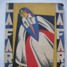 Libros antiguos: LA FARSA - LAS ADELFAS Nº62 - AÑO 1928. Lote 140135830