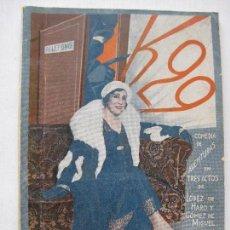 Libros antiguos: LA FARSA - K-29 Nº163 - AÑO 1930. Lote 140136334