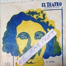 Libros antiguos: EL TEATRO MODERNO - CAMINO ADELANTE - M . LINARES RIVAS -. Lote 140403994