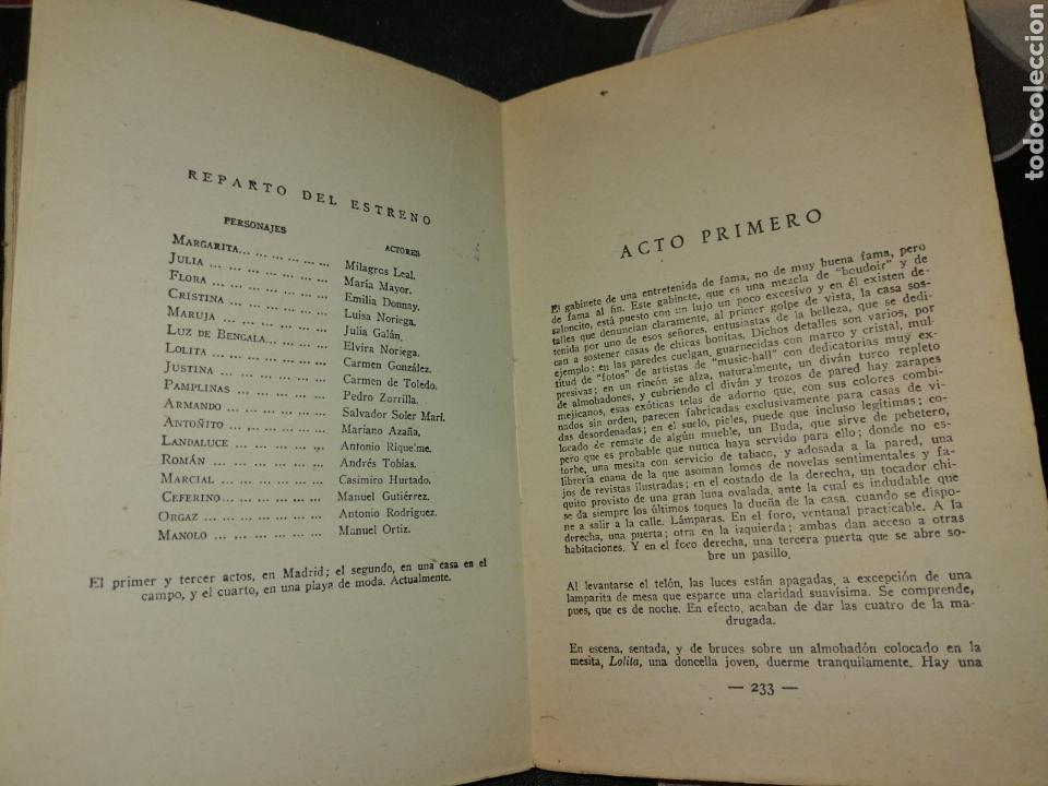 Libros antiguos: 3 COMEDIAS CON UN SOLO ENSAYO DE ENRIQUE JARDIEL PONCELA 1934 - Foto 4 - 144549774