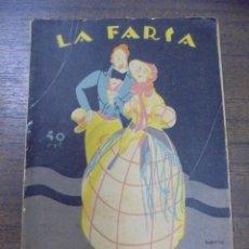Libros antiguos: ATOCHA. FEDERICO OLIVER. LA FARSA. 1927.. Lote 155176409