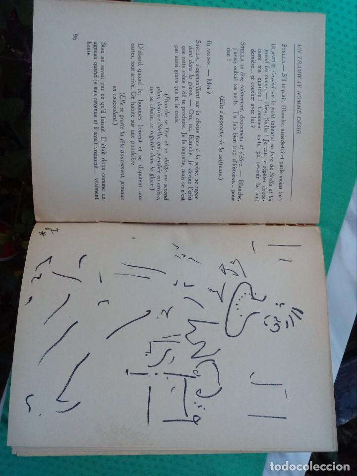 Libros antiguos: Un tramway nommé DÉSIR. Adaptatión, couverture et lithographies par Jean Cocteau.1949 - Foto 2 - 145261266