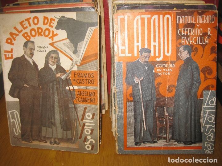 20 LIBROS TEATRO LAFARSA. (Libros antiguos (hasta 1936), raros y curiosos - Literatura - Teatro)