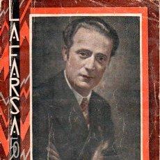 Libros antiguos: MUÑOZ SECA - PEREZ FERNANDEZ : ANACLETO SE DIVORCIA (LA FARSA, 1933). Lote 146276626