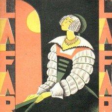 Libros antiguos: FEDERICO OLIVER : LAS HILANDERAS (LA FARSA, 1929). Lote 146727582