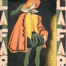 Libros antiguos: MANUEL LINARES RIVAS : HILOS DE ARAÑA (LA FARSA, 1929). Lote 146727818