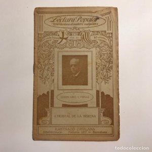 Lectura Popular: Biblioteca d'autors catalans: L'HOSTAL DE LA SERENA. JOSEPH ABRIL Y VIRGILI