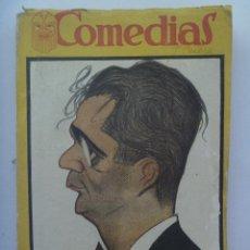 Libros antiguos: COMEDIAS : LA PRINCESA BEBE, EL DRAGON DE FUEGO Y AL NATURAL, DE JACINTO BENAVENTE. 1926. ESPECIAL. Lote 147475278