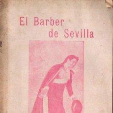 Libros antiguos: BEAUMARCHAIS : EL BARBER DE SEVILLA (BONAVIA, 1908) EN CATALÁN. Lote 148548822
