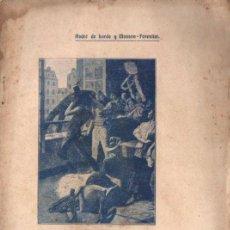 Libros antiguos: DE LORDE Y MASSON FORESTIER : BARATERÍA (BONAVIA, 1908) VERSIÓN EN CATALÁN DE VILAREGUT. Lote 148552862