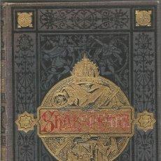 Libros antiguos: DRAMAS. GUILLERMO SHAKESPEARE. WILLIAM SHAKEPEARE. MAUCCI 1909. Lote 148590478