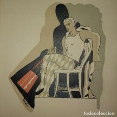 Libros antiguos: NARCISO TEATRO MAX AUB 1928 CON UN DIBUJO DE JOSEP OBIOLS PRIMERA EDICIÓN MUY DIFICIL DE ENCONTRAR. Lote 115182543