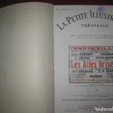 Libros antiguos: LE PETIT ILLUSTRATION THEATRALE. Nº 33 A Nº 57. 1921.. Lote 149298286