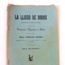 Libros antiguos: LA LLISSÓ DE DIBUIX FRANCISCO FIGUERAS Y RIBOT 1896 URBANO FANDO MÚSICA. Lote 149722382