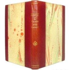 Libros antiguos: 1929 - MAURICIO MAETERLINCK: EL PÁJARO AZUL - TEATRO SIMBOLISTA - SIMBOLISMO - ENCUADERNACIÓN . Lote 151208426