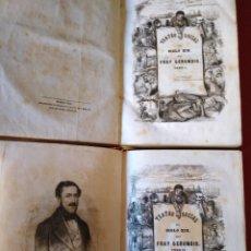 Libros antiguos: TEATRO SOCIAL DEL SIGLO XIX POR FRAY GERUNDIO. TOMO I Y TOMO II - MADRID 1846. Lote 151605946