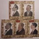 Libros antiguos: 5 FACSÍMILES DE FOLLETOS DE OBRAS DE TEATRO (1919-1921). NOVELA TEATRAL DE GUILLERMO PERRÍN. Lote 152482802