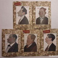 Libros antiguos: 6 FACSÍMILES DE FOLLETOS DE OBRAS DE TEATRO (1919-1921). NOVELA TEATRAL DE GUILLERMO PERRÍN. Lote 152482802