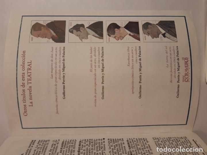 Libros antiguos: 6 facsímiles de folletos de obras de teatro (1919-1921). Novela teatral de Guillermo Perrín - Foto 3 - 152482802