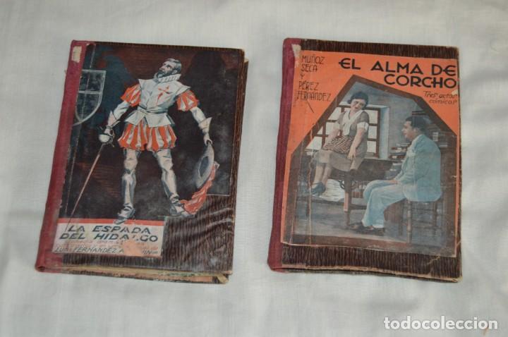 Libros antiguos: VINTAGE - LOTE DE 9 LIBROS / LIBRITOS - LA FARSA, ED. ESTAMPA - PRINCIPIOS SIGLO PASADO - ENVÍO24H - Foto 2 - 154025714