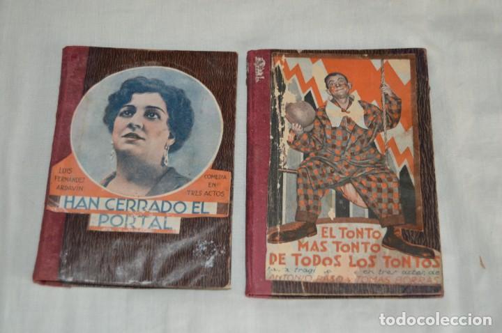 Libros antiguos: VINTAGE - LOTE DE 9 LIBROS / LIBRITOS - LA FARSA, ED. ESTAMPA - PRINCIPIOS SIGLO PASADO - ENVÍO24H - Foto 4 - 154025714