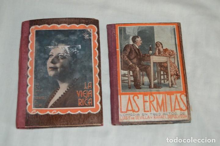 Libros antiguos: VINTAGE - LOTE DE 9 LIBROS / LIBRITOS - LA FARSA, ED. ESTAMPA - PRINCIPIOS SIGLO PASADO - ENVÍO24H - Foto 6 - 154025714