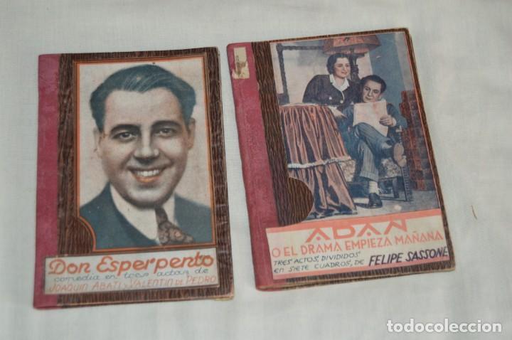 Libros antiguos: VINTAGE - LOTE DE 9 LIBROS / LIBRITOS - LA FARSA, ED. ESTAMPA - PRINCIPIOS SIGLO PASADO - ENVÍO24H - Foto 8 - 154025714