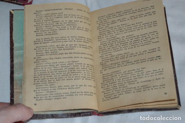 Libros antiguos: VINTAGE - LOTE DE 9 LIBROS / LIBRITOS - LA FARSA, ED. ESTAMPA - PRINCIPIOS SIGLO PASADO - ENVÍO24H - Foto 15 - 154025714